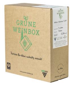 2018 Grauburgunder trocken   Zähringer   Grüne Weinbox