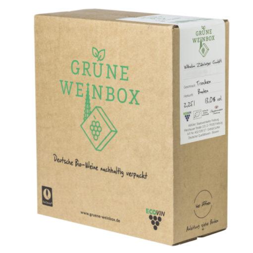2018 Grauburgunder trocken | Zähringer | Grüne Weinbox