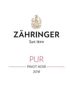 2018 Pinot Noir PUR trocken