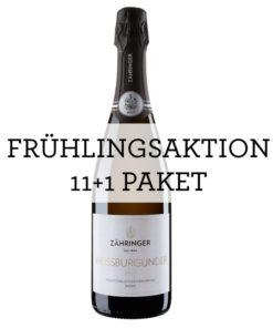 AKTION 11+1 Weissburgunder Sekt Brut